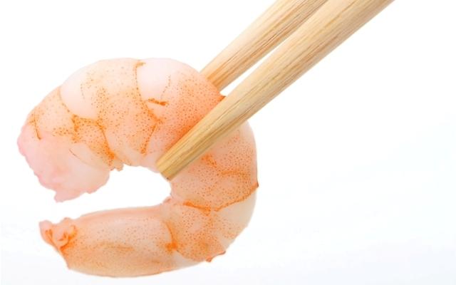 Sushi rejer i frost
